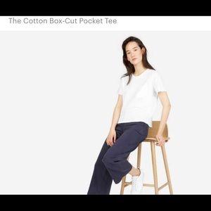 Everlane Cotton Box Cut Pocket Tee